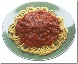 Photo: Plate of Spaghetti