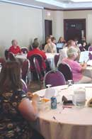 Photo of workshop sessions from the 2009 New Westminster conference